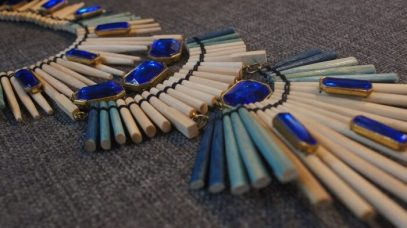 Necklace made from chopsticks by Avatar