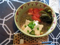 Organic Moroheiya (saluyot) Vegetable Noodles(Source:https://1tess.wordpress.com/2012/08/09/moroheiya-green-noodles/)