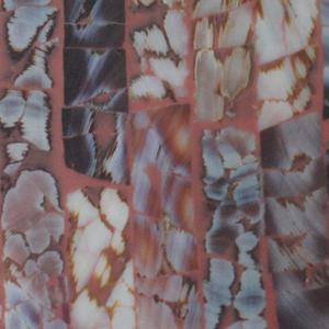 Brick Layered Brown Mussels Lamination_Details