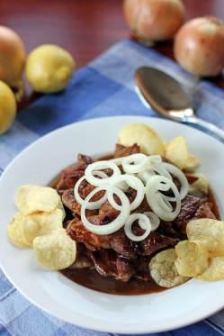 Bistek, a Filipino favorite (Source: http://www.angsarap.net/2013/05/13/pork-bistek/)